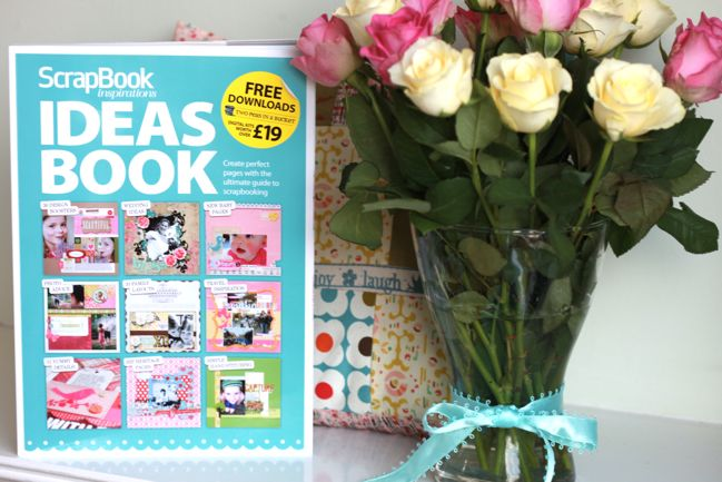 new scrapbooking idea book from Scrapbook Inspirations magazine