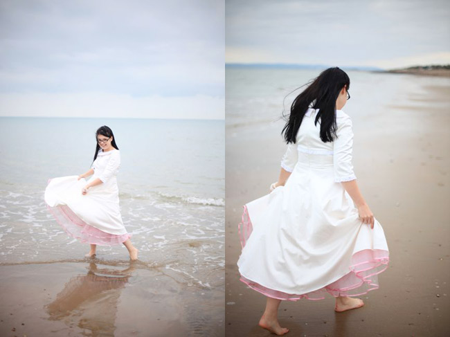 wedding dress by Candy Anthony, bridal photos by SJ Dowsett