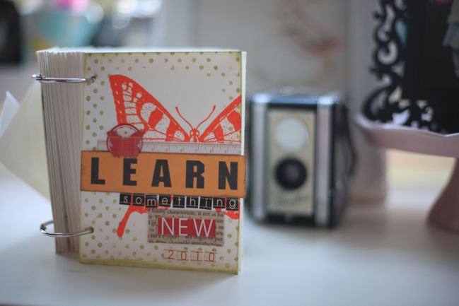 minibook for Learn Something New