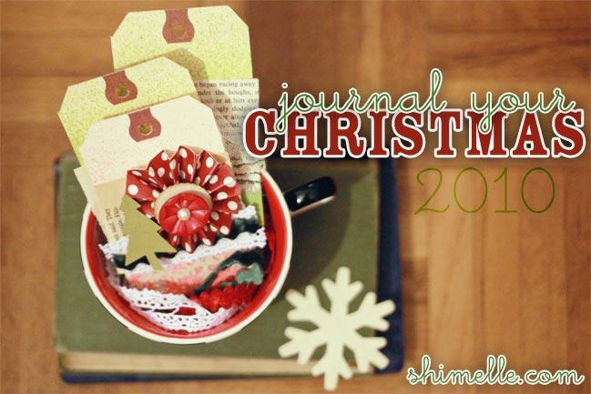 Journal your Christmas online scrapbooking class