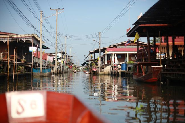 Travel Notes from Dumnoen Saduak Floating Market Thailand