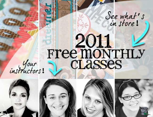 free online scrapbooking classes