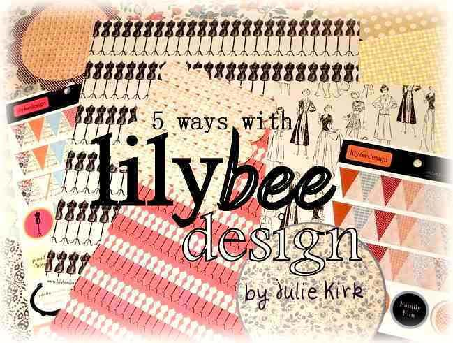 scrapbook page ideas with lily bee