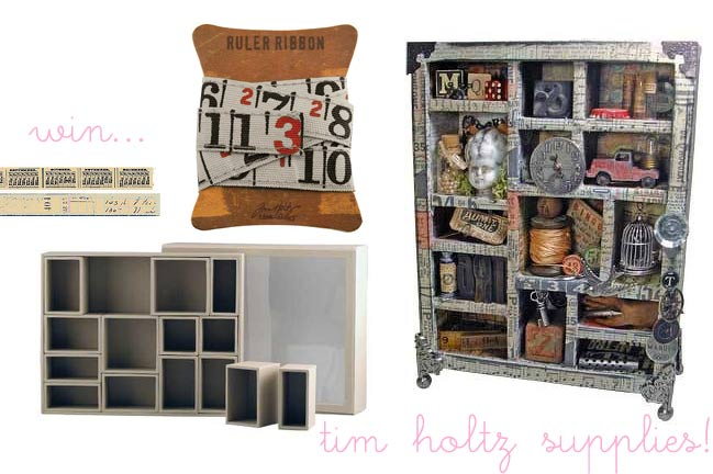 win tim holtz scrapbooking supplies