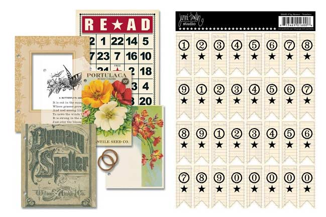new scrapbooking supplies from Jenni Bowlin Studio