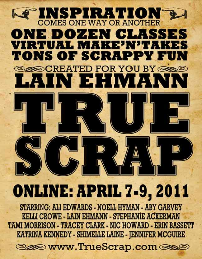 True Scrap scrapbooking event