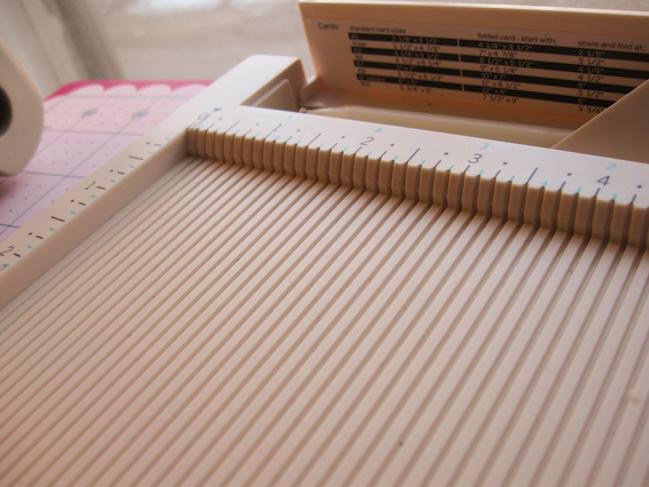 crafting ideas - martha stewart scoring board