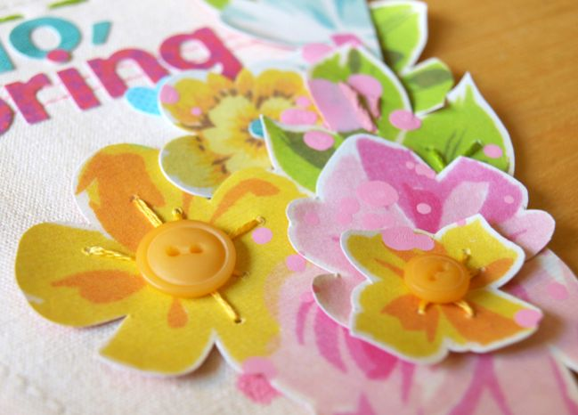 scrapbooking with sweetly smitten from sassafras