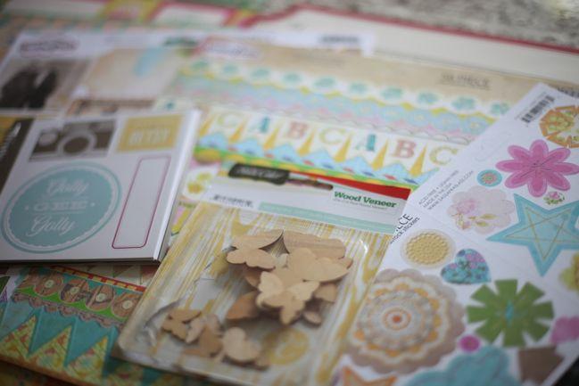 scrapbooking embellishments