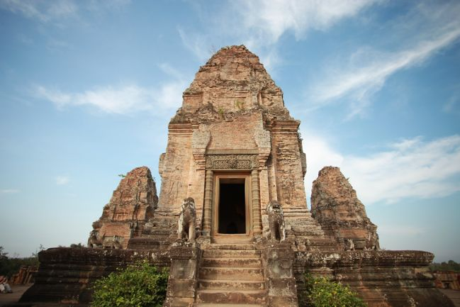 temple in siem reap, cambodia