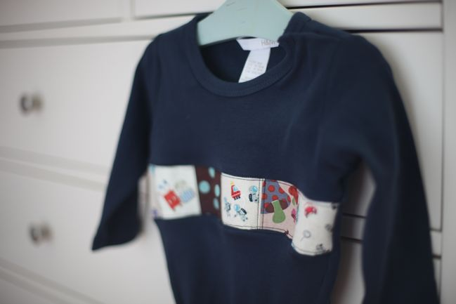 how to make a quilted onesie or t-shirt