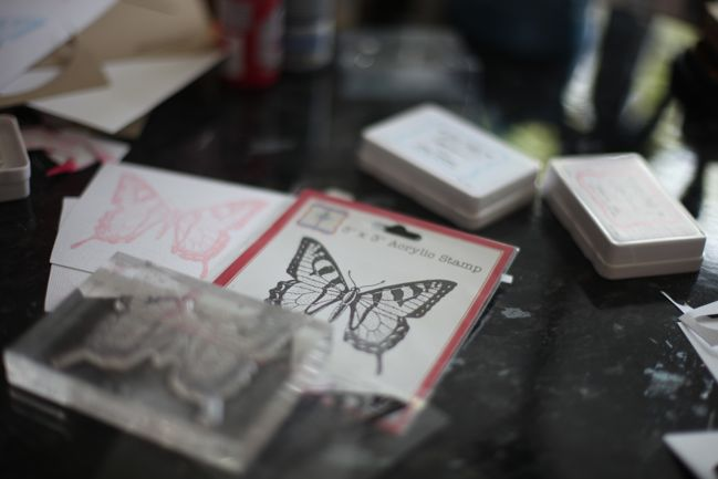 five ideas with the jenni bowlin butterfly stamp