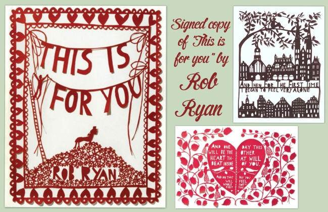 Rob Ryan signed book giveaway