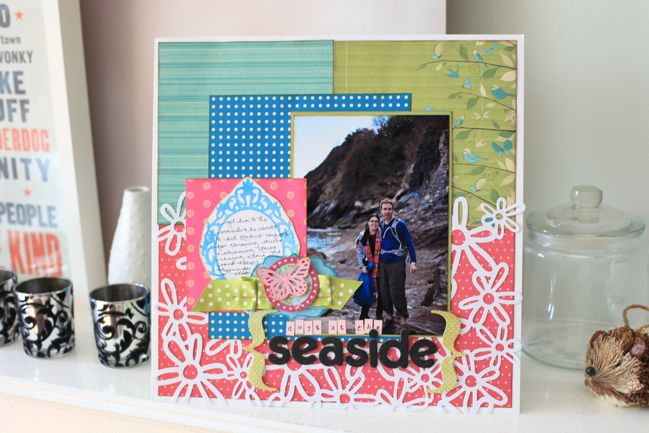 scrapbook page :: journaling about places