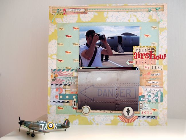 scrapbook page by julie kirk