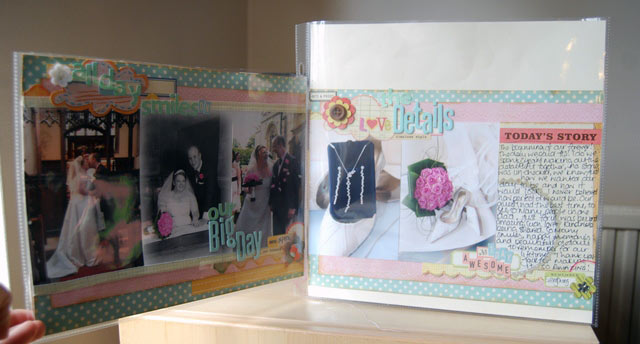 scrapbook page by sally danes