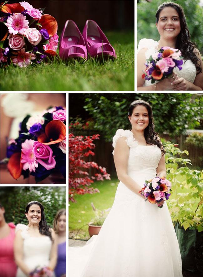 edwards wedding - london, uk - bridal portraits