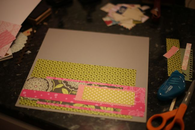 scrapbook starting point