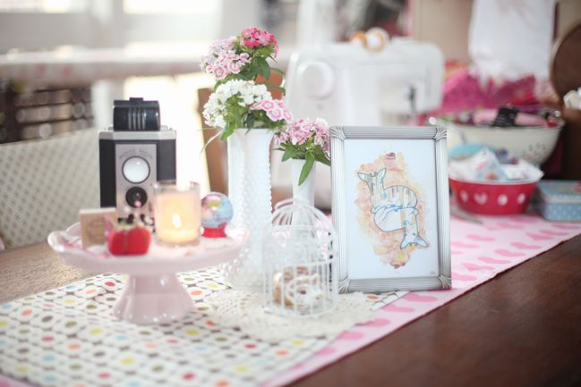 woodland vintage baby shower