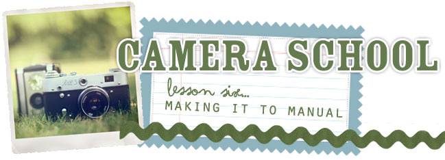 camera school 06 :: making it to manual