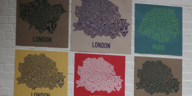 10 things :: ork posters london neighbourhoods
