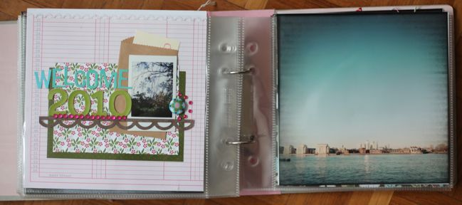 journal your christmas scrapbook