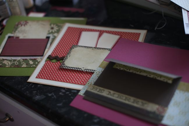 3 ways to prepare pockets for scrapbook pages
