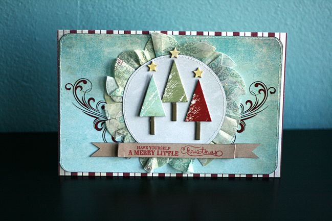christmas card tutorial