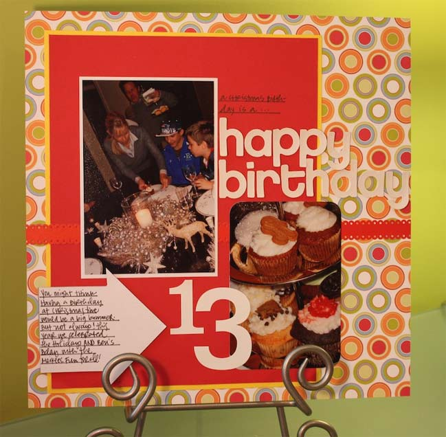 scrapbook page by lain ehmann