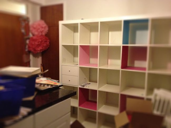 moving scrapbooking space