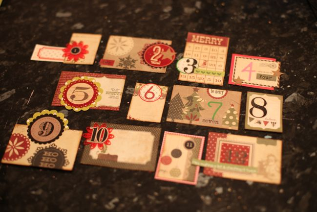 Journal your Christmas page numbers