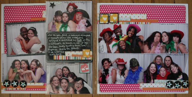 scrapbook page by Leanne Edwards