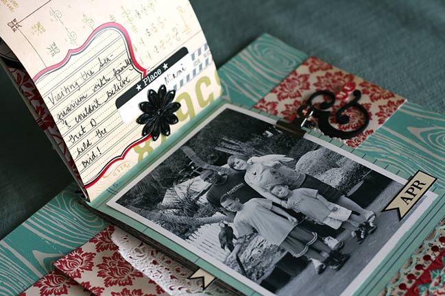 scrapbook page by leah farquharson