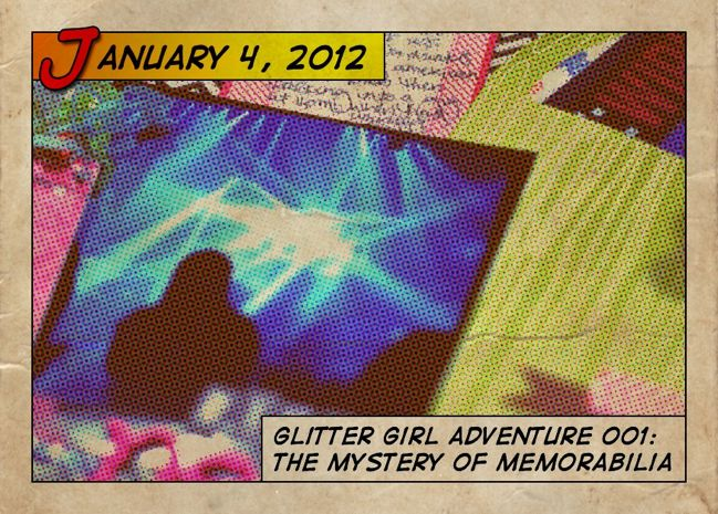 glitter girl and the scrapbooking mystery of memorabilia