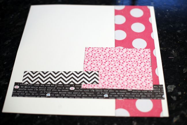 scrapbook page starting point