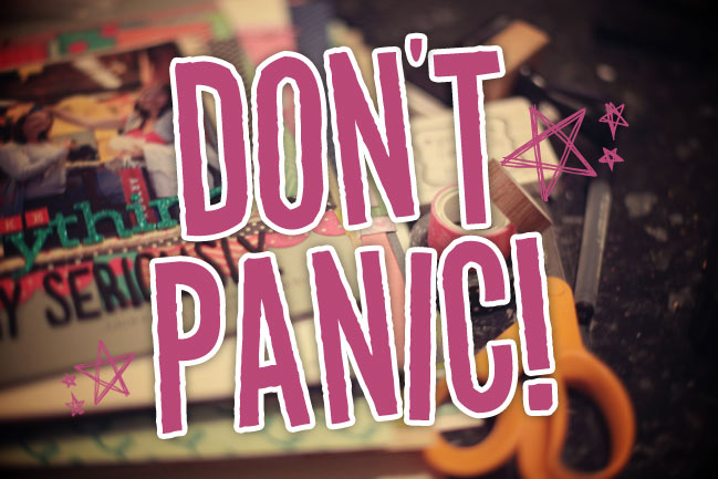 The Hitchhiker's Guide to Scrapbooking - an online workshop @ shimelle.com
