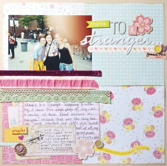 scrapbook starting points