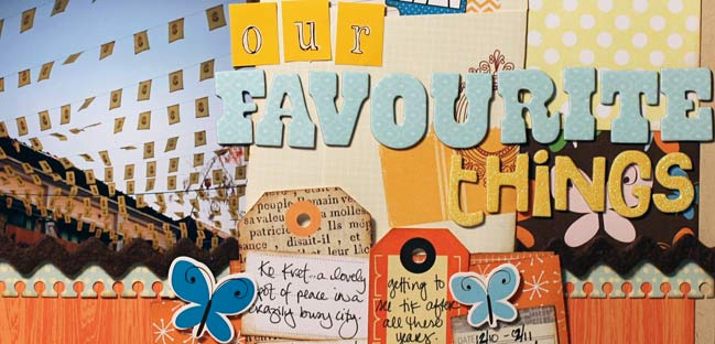 Paper Weekly Challenge Scrapbook With Lots Of Letters Pretty