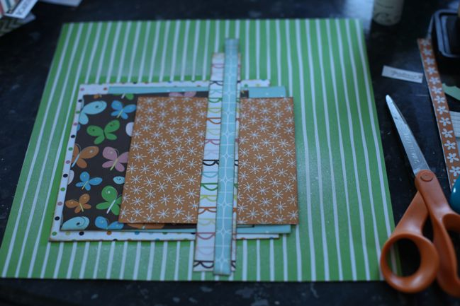 scrapbooking starting point :: american crafts gardenia