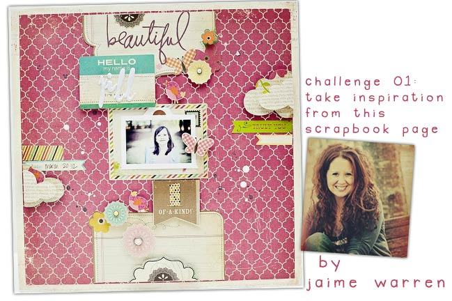 scrapbook page by jaime warren