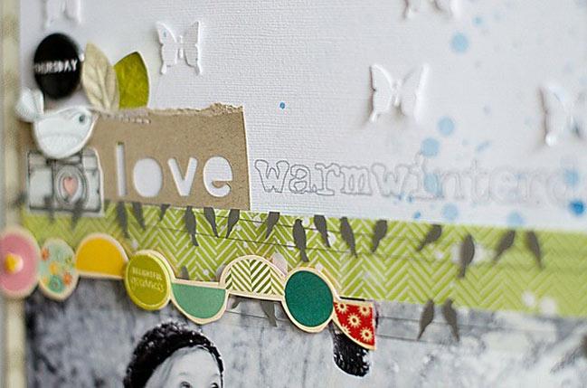 scrapbook page by wilna furstenberg