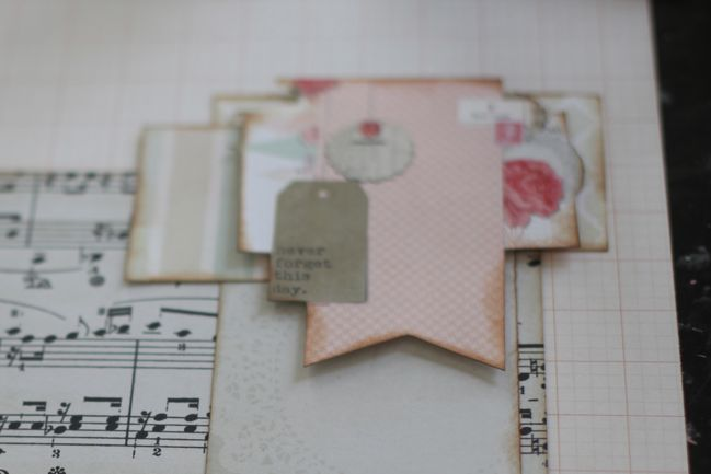 creating a scrapbook page from start to finish
