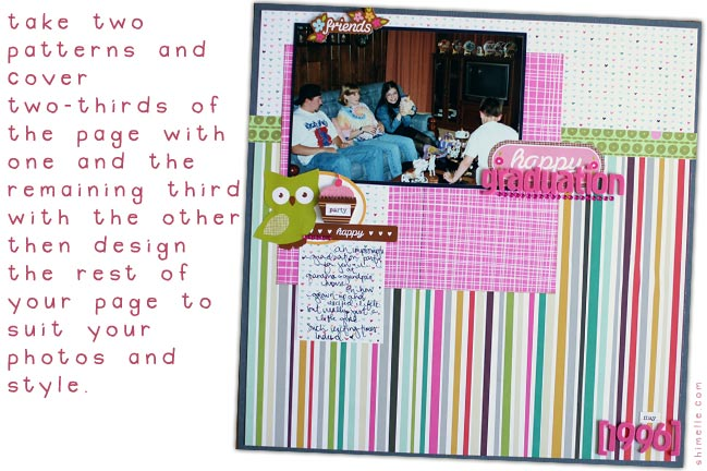 scrapbooking challenge
