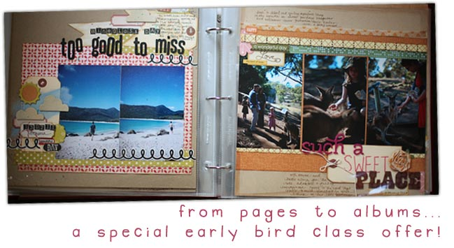 new scrapbooking class :: special offer