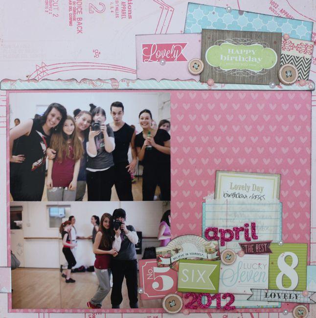 scrapbook page