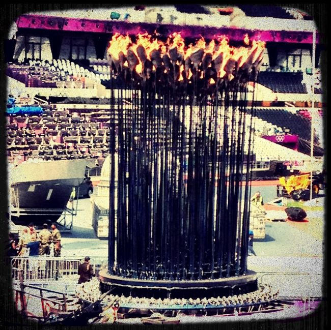 london 2012 olympic flame