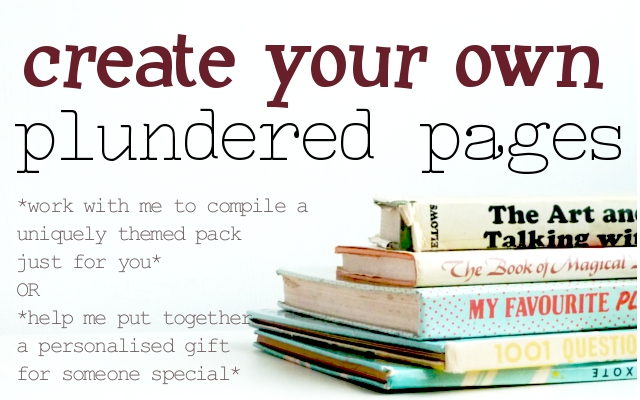 plundered pages prize pack