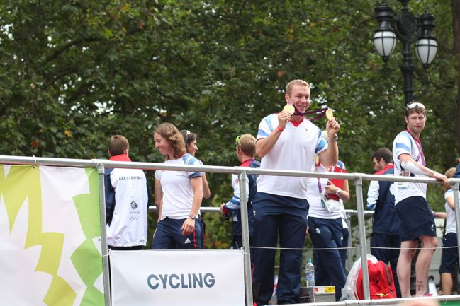 Gold Medallist Chris Hoy