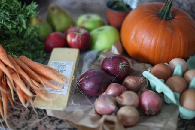 this week's haul from blackheath farmers' market
