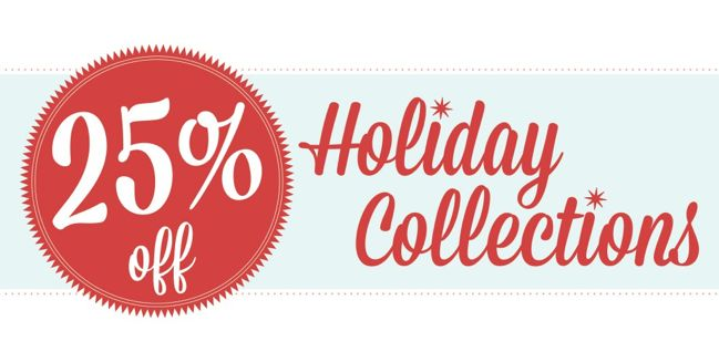 holiday scrapbooking sale